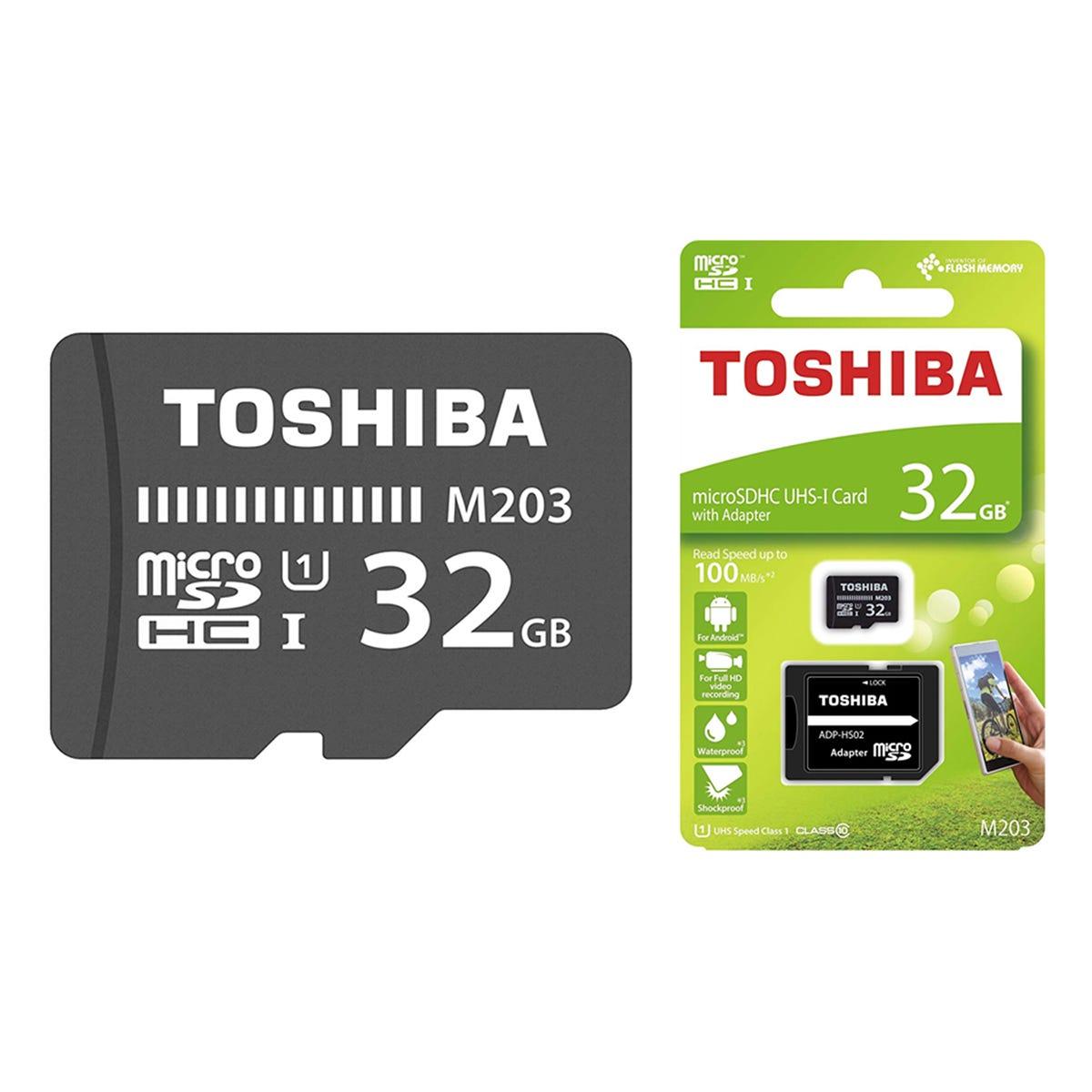32GB Toshiba M302 Class 10 Micro SD Card 4K