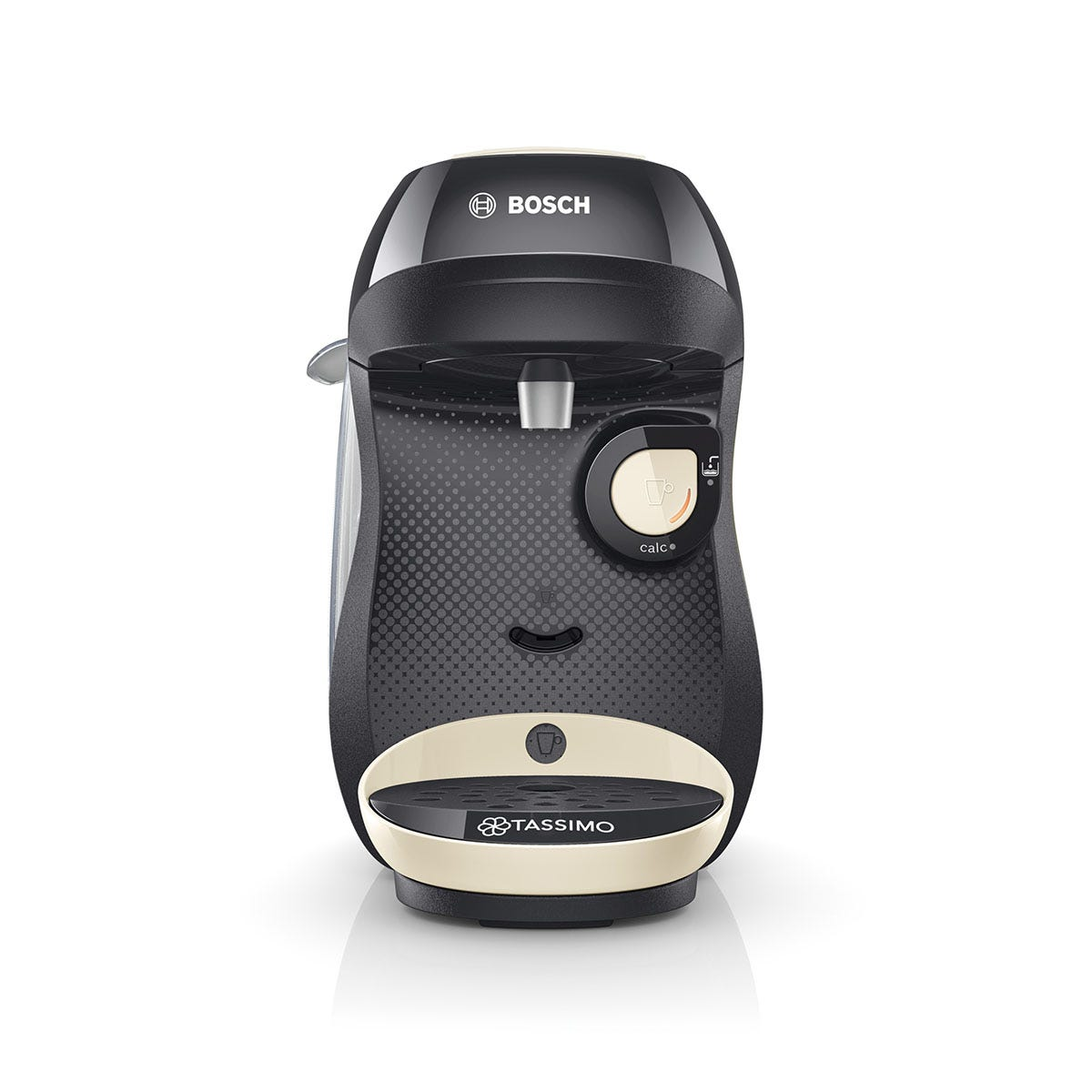 Tassimo TAS1007GB Happy Pod Coffee Machine - Cream