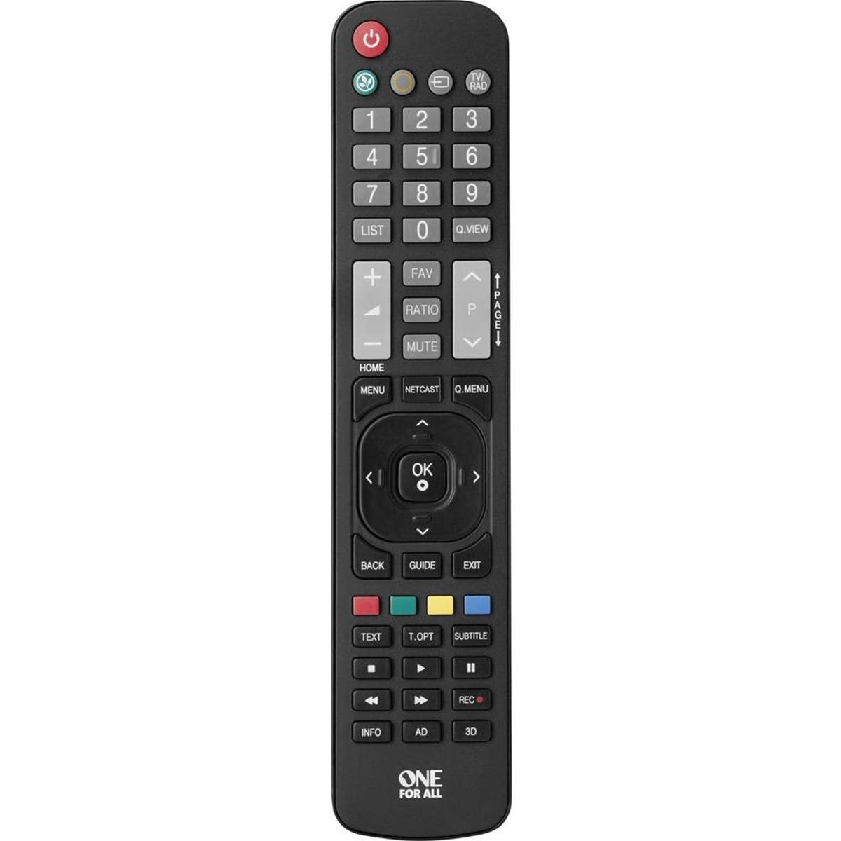 One For All Replacement LG TV Remote Control