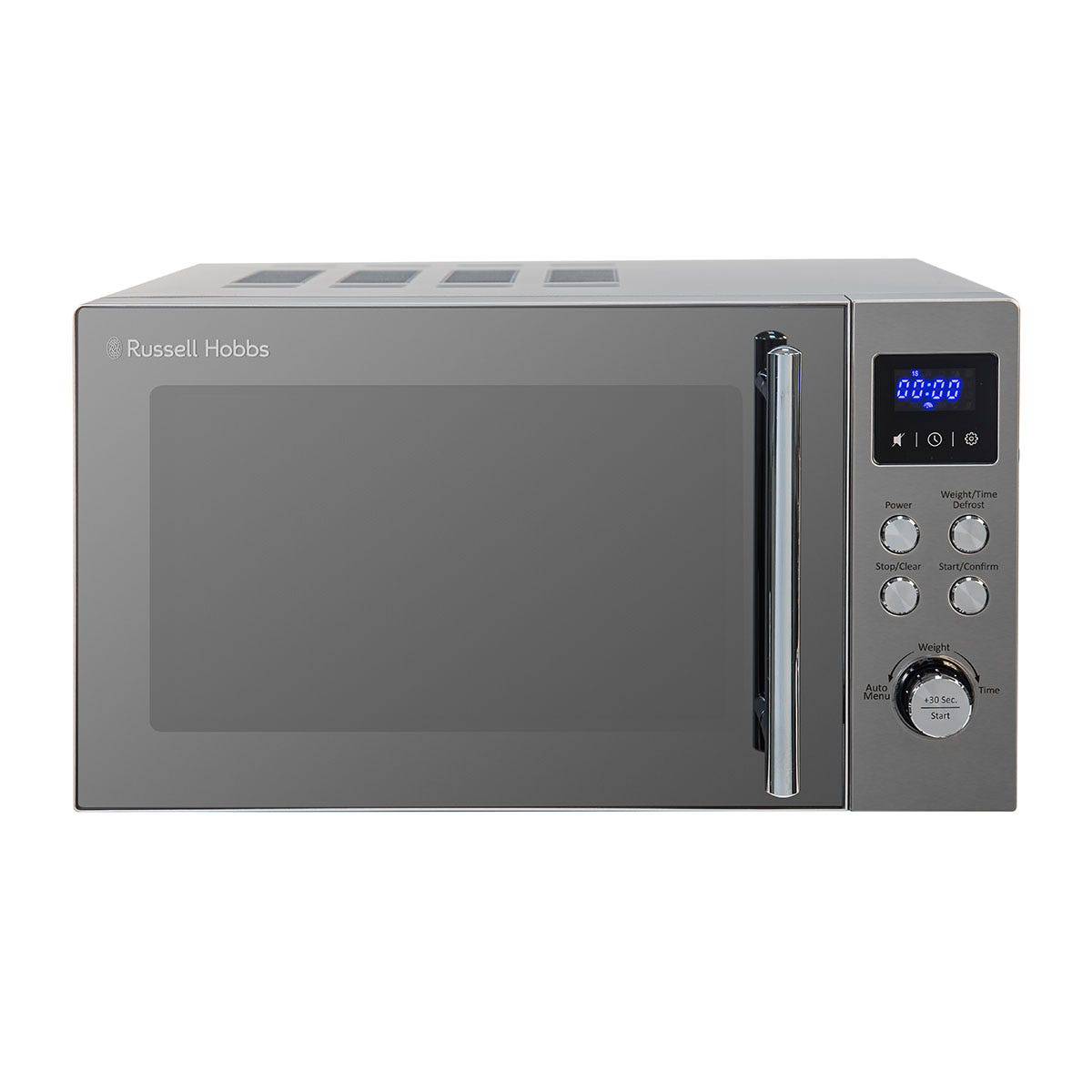 Russell Hobbs Buckingham 800W 17L Digital Microwave - Stainless Steel