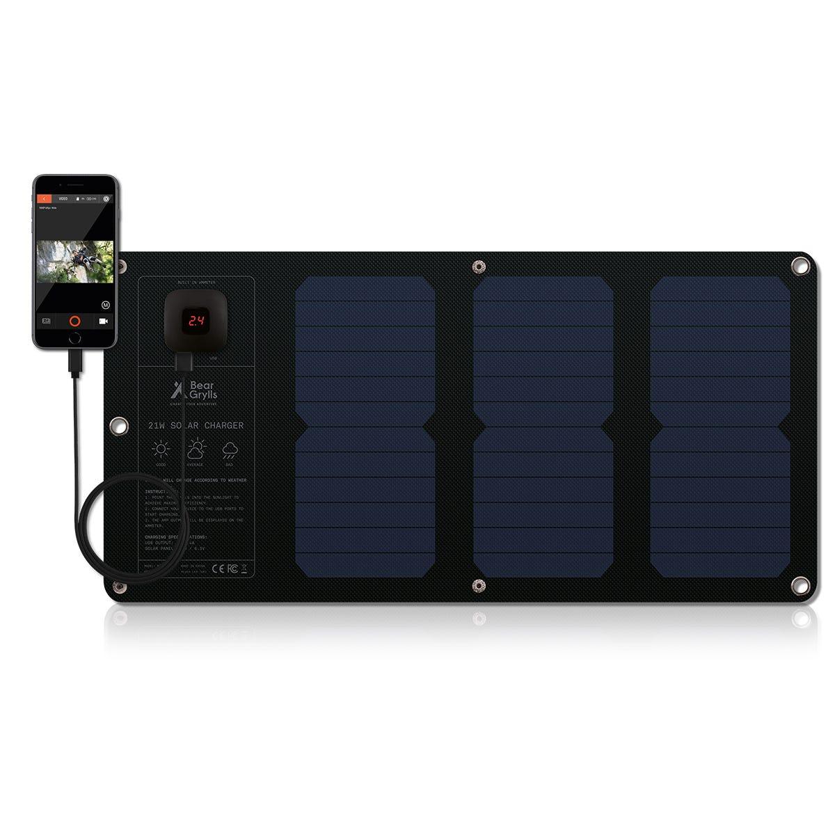 Image of Bear Grylls 21W Solar Mat