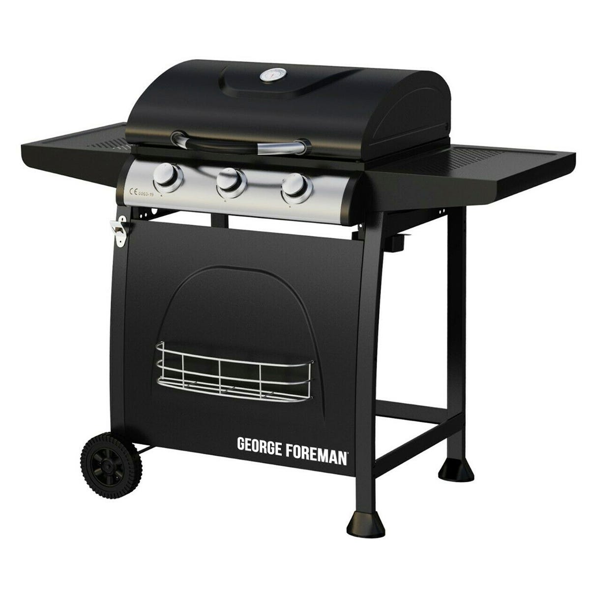 Image of George Foreman 3 Burner Gas BBQ