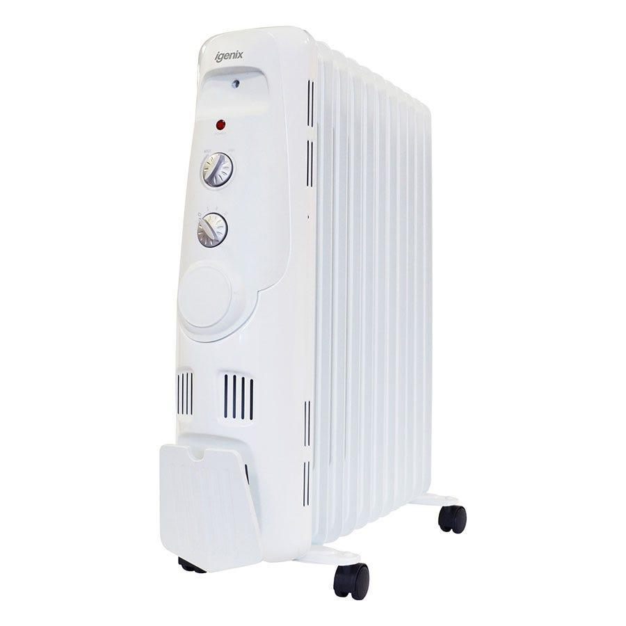 Igenix 2.5kW Oil Radiator - White