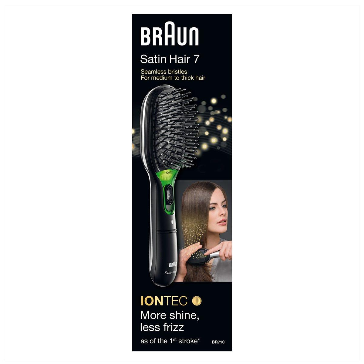 Braun BRABR710 Satin Hair 7 IONTEC Brush - Black