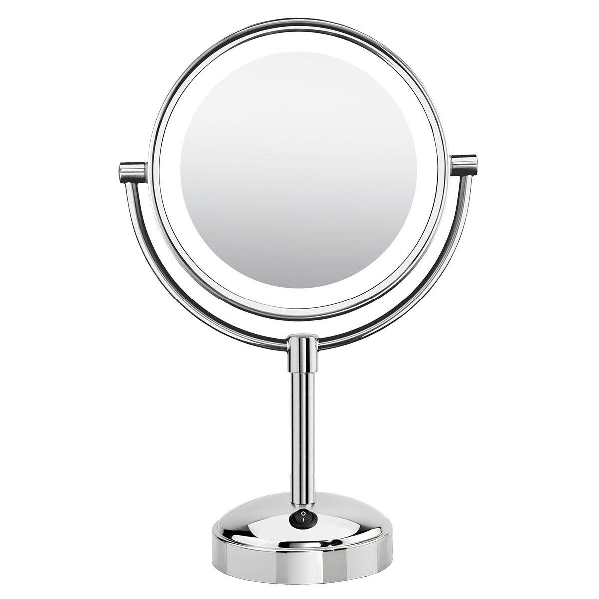 BaByliss BAB9434U Reflections Luxury LED Chrome Mirror - Silver