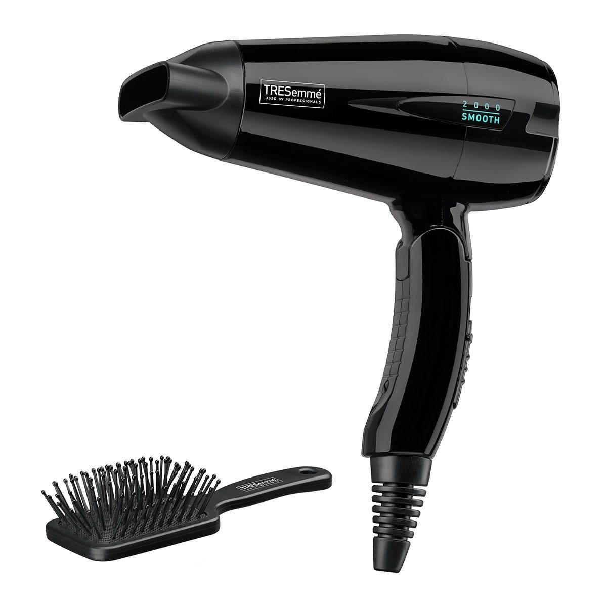 TRESemme BAB5549U Salon Professional Travel 2000 Hairdryer - Black