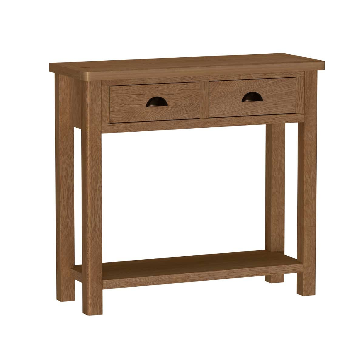 Rosewell Natural Oak Console Table