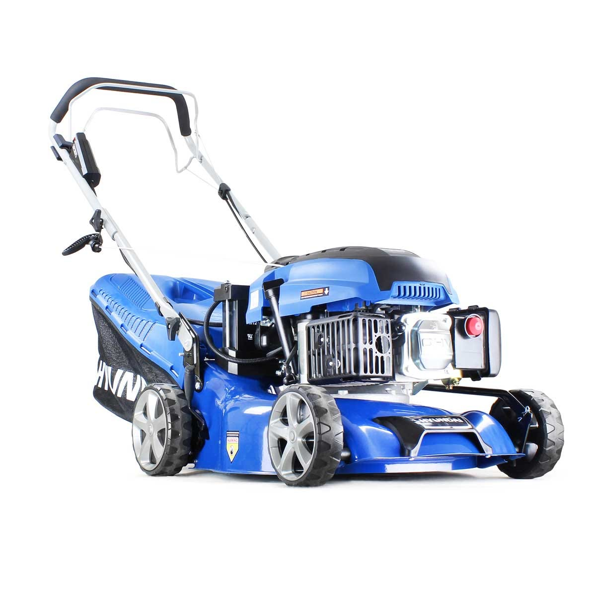 "Image of Hyundai HYM430SPE Self Propelled Electric Start 17"" Petrol Lawn Mower"