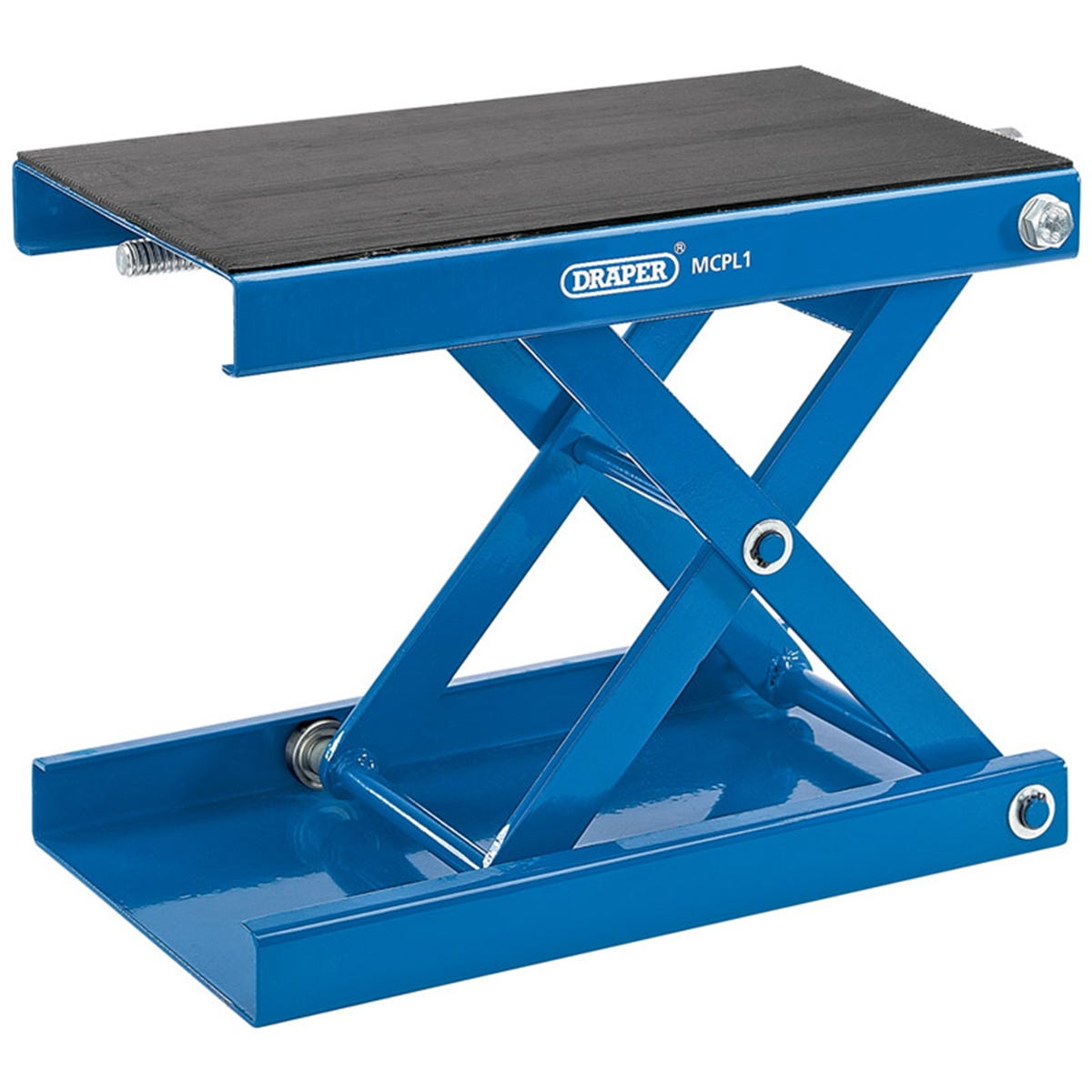 Draper 450kg Motorcycle Scissor Stand with Pad