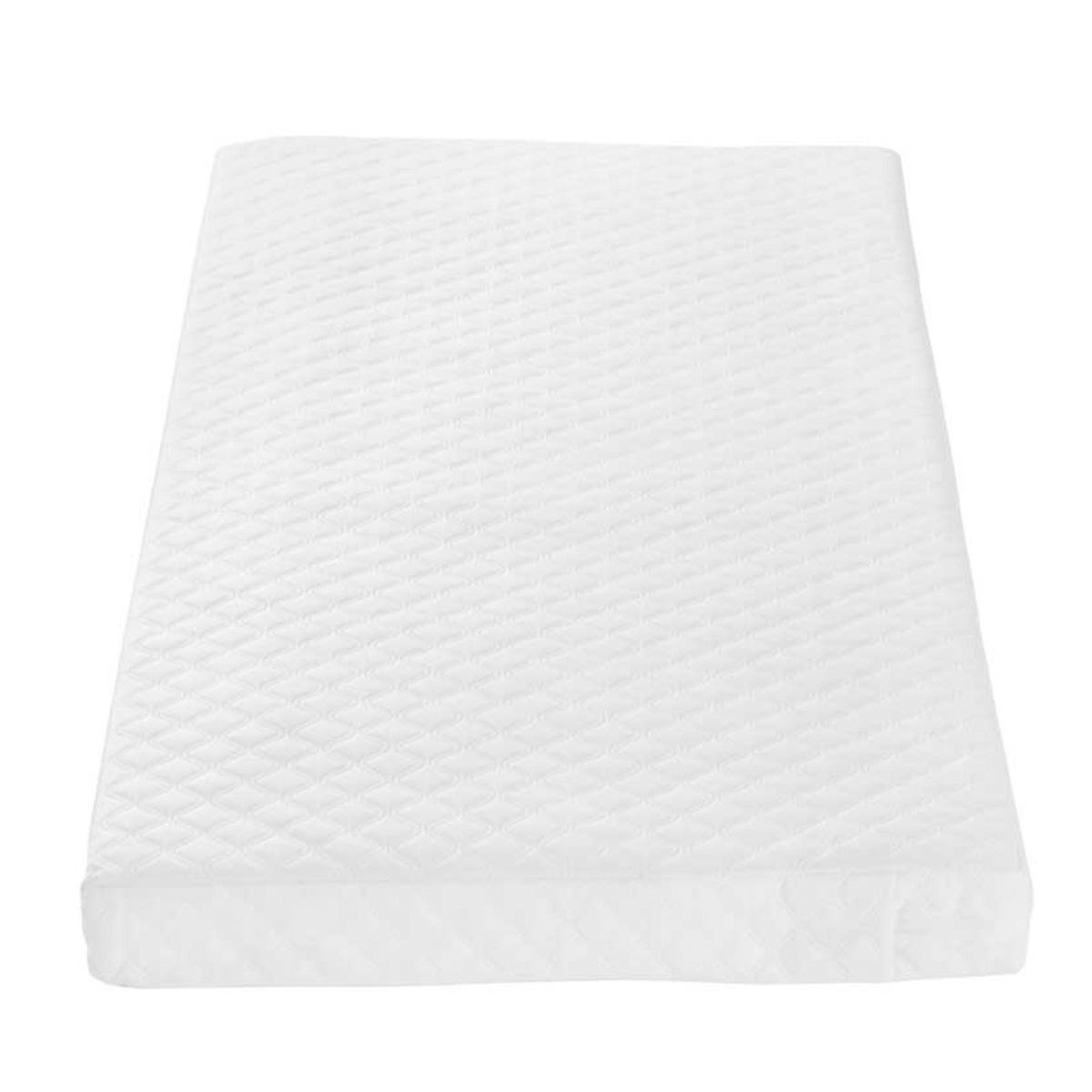Tutti Bambini Sprung Cot Mattress (60 x 120 cm) - White