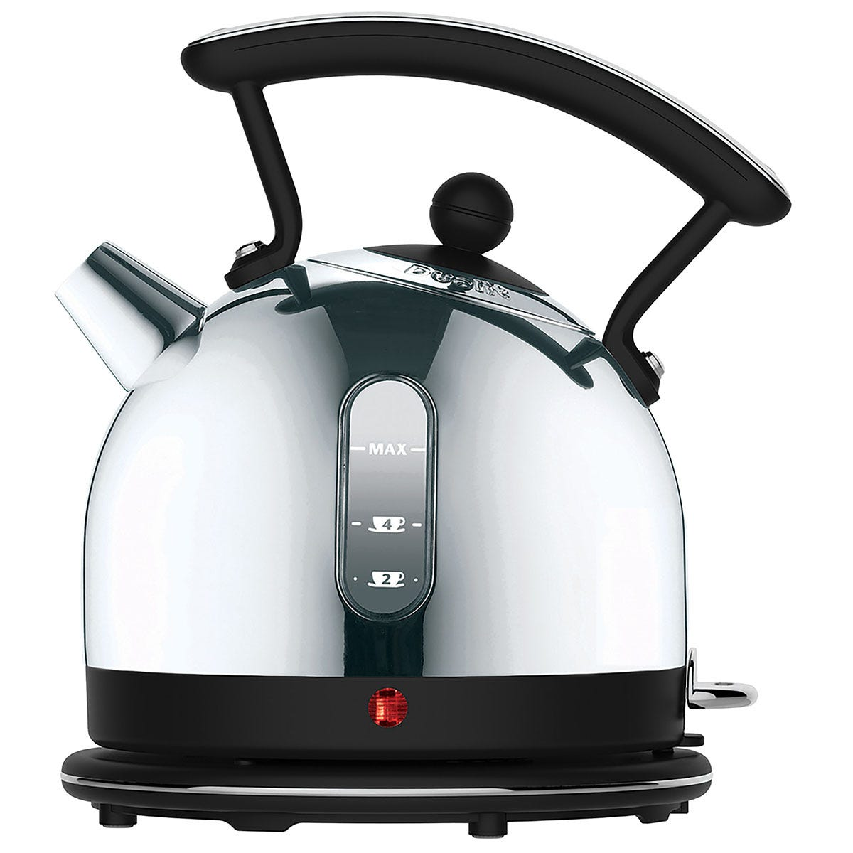 Dualit DA7262 Lite 1.7L Cordless Dome Kettle with Viewing Window - Black