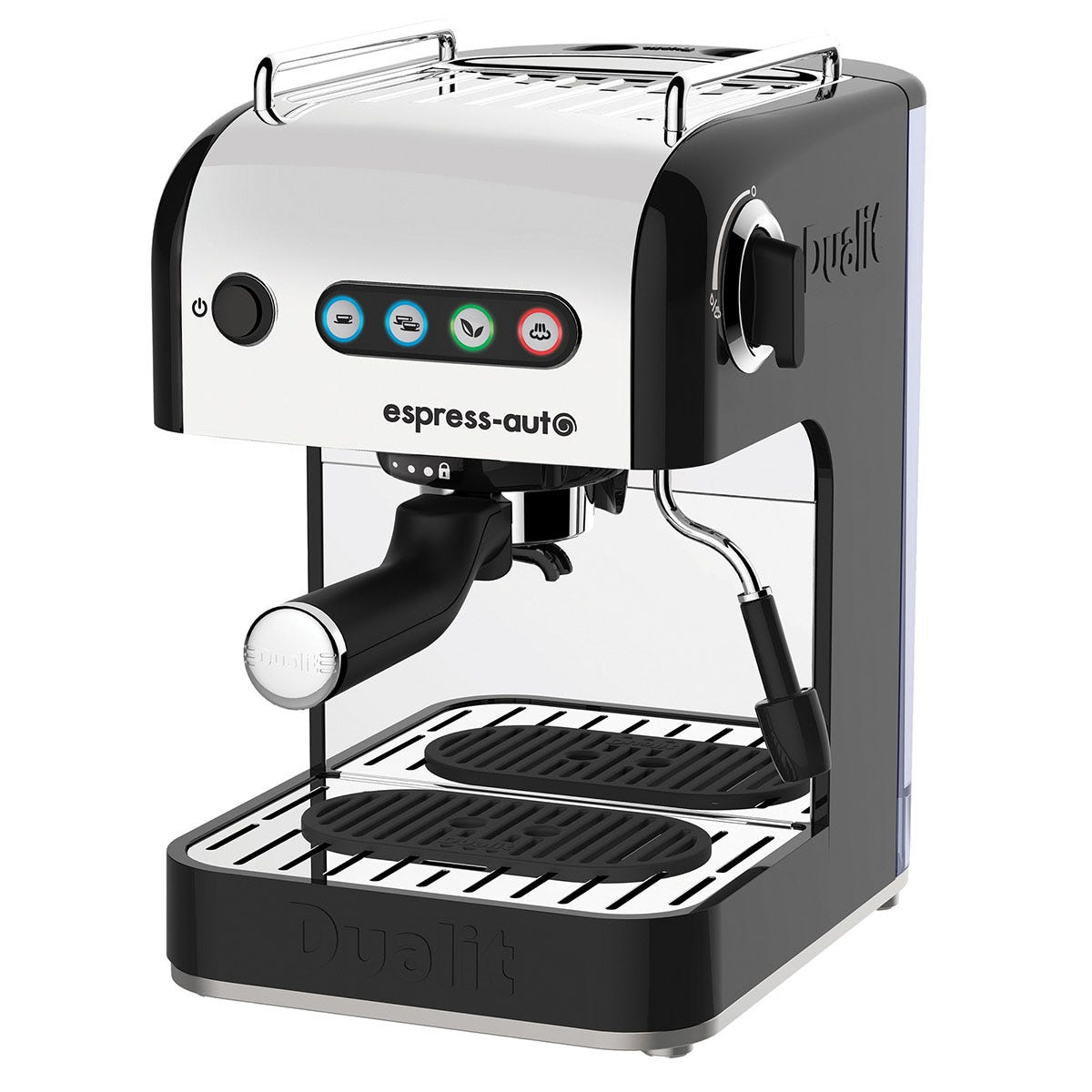 Dualit DA4516 Espresso-Auto Coffee and Tea Machine - Stainless Steel and Black