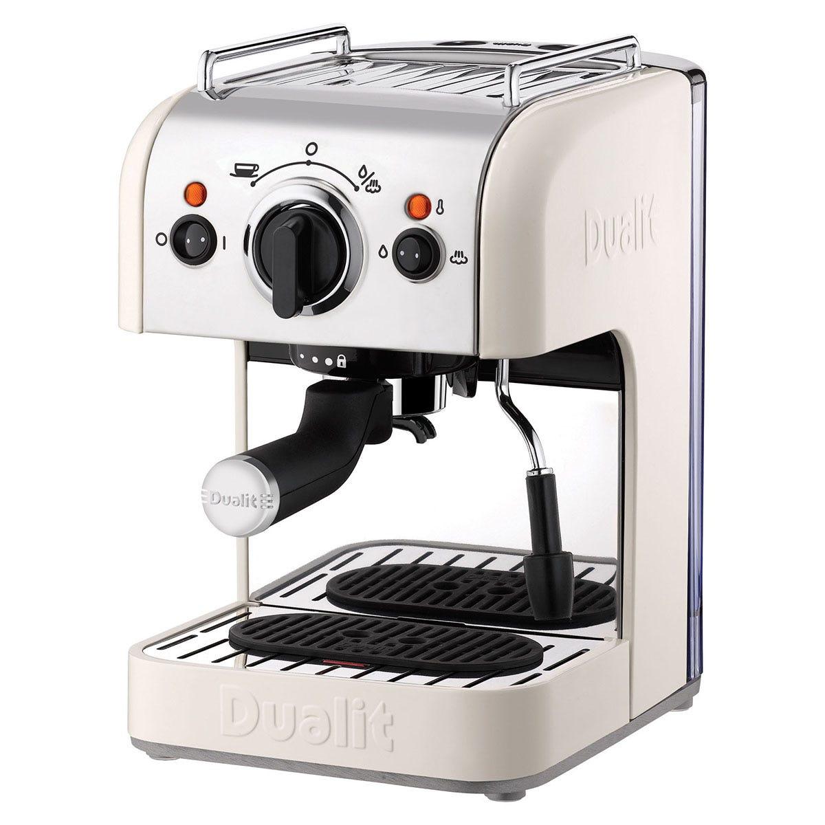 Dualit DA4443 3-in-1 Coffee Machine - Canvas White
