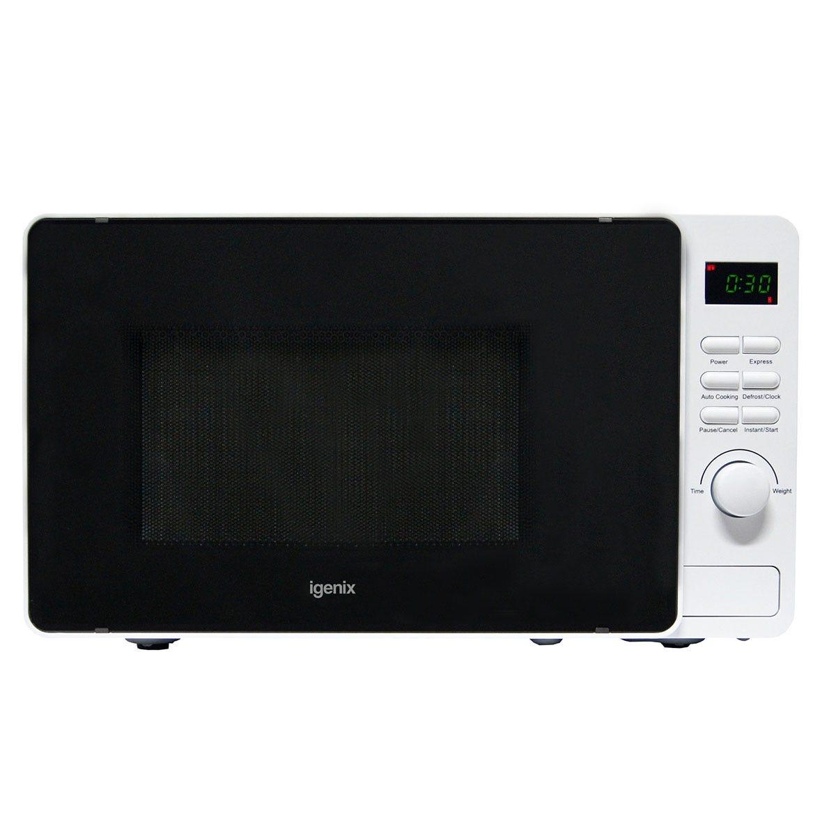 Igenix IG2082 20L 800W Digital Microwave - White