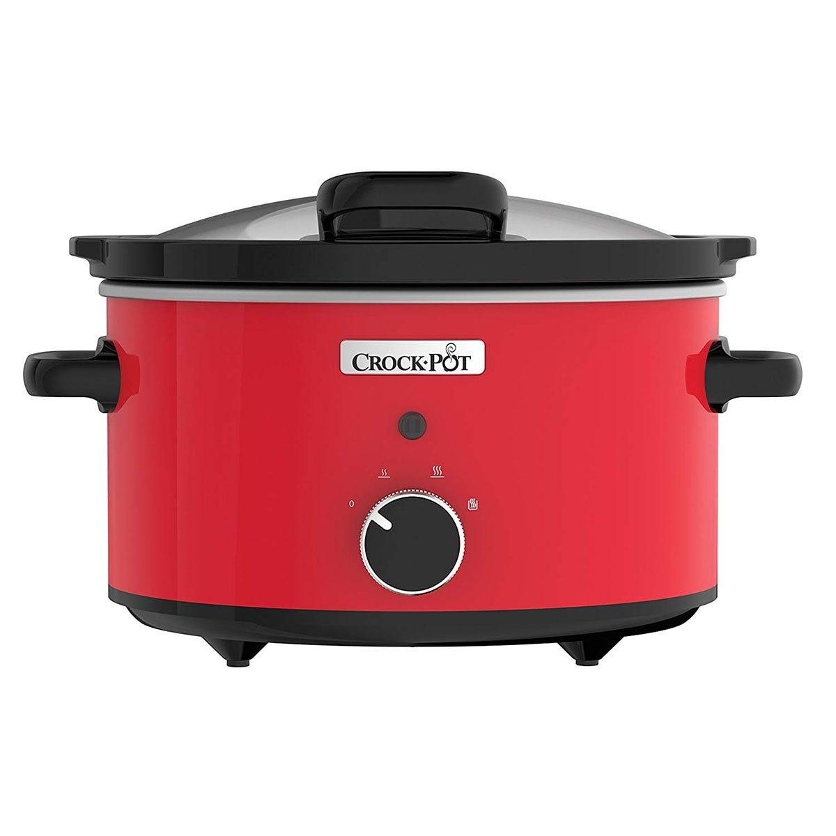 Crock-Pot 3.5L Slow Cooker - Red