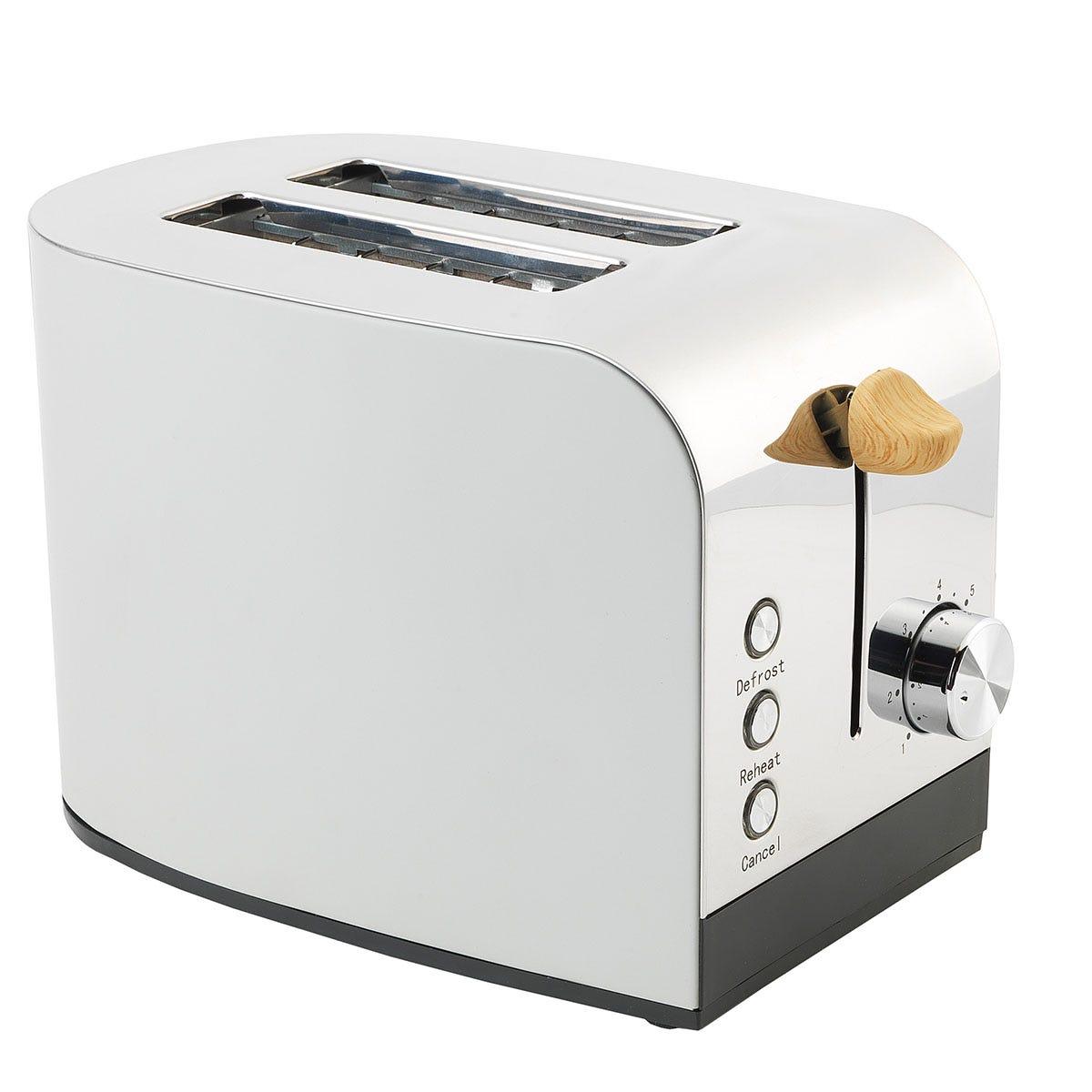 Salter EK3618GRY Skandi 2-Slice Toaster - Grey