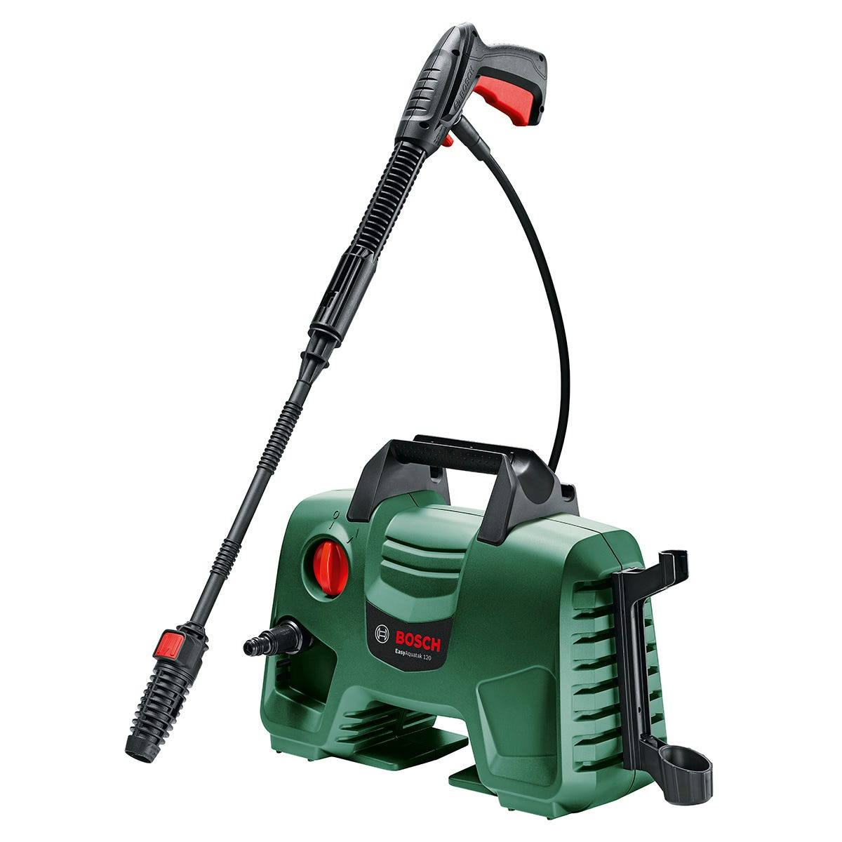 Bosch EasyAquatak 120 High-Pressure Washer with 360 Nozzle Kit