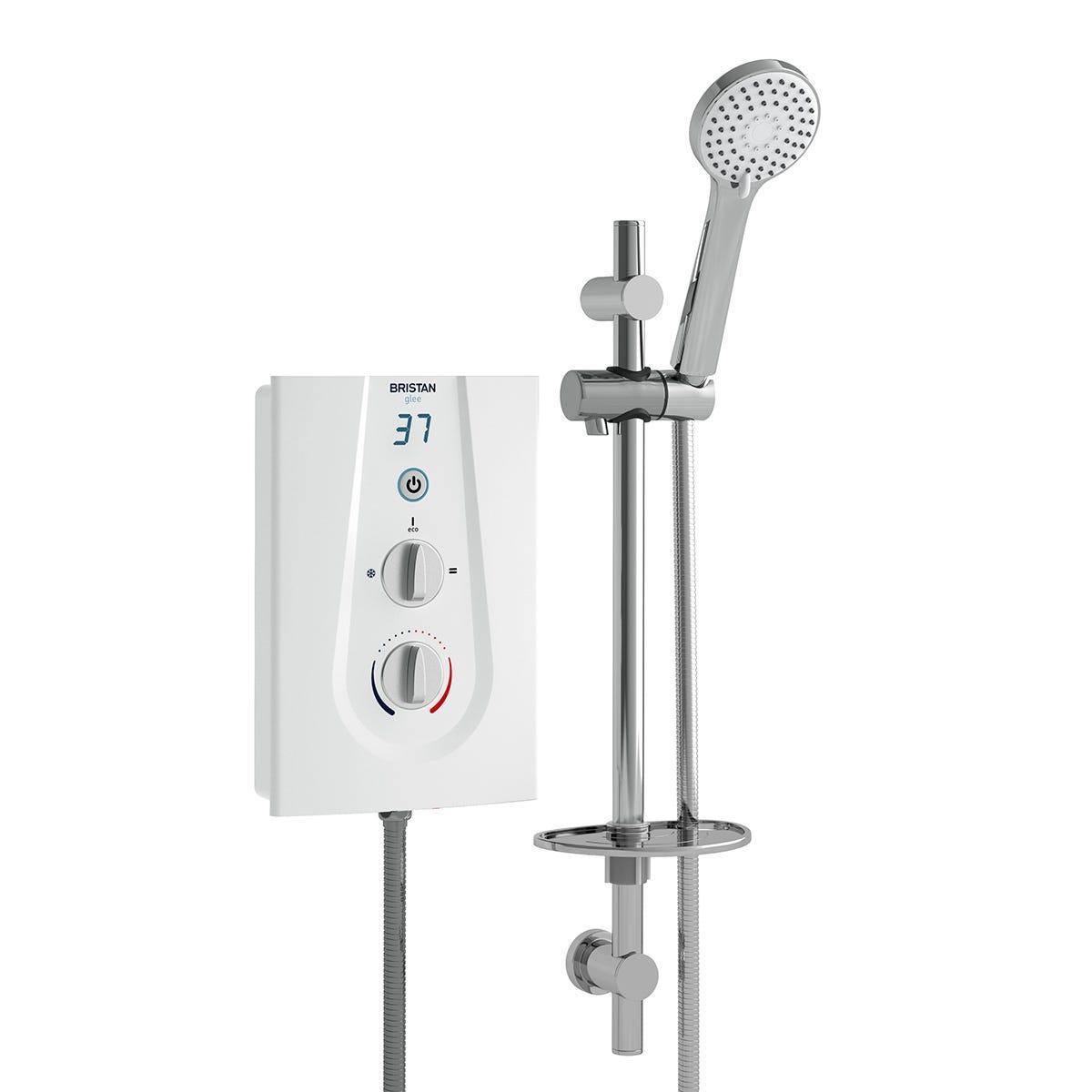 Bristan Glee Electric Shower 9.5kw White