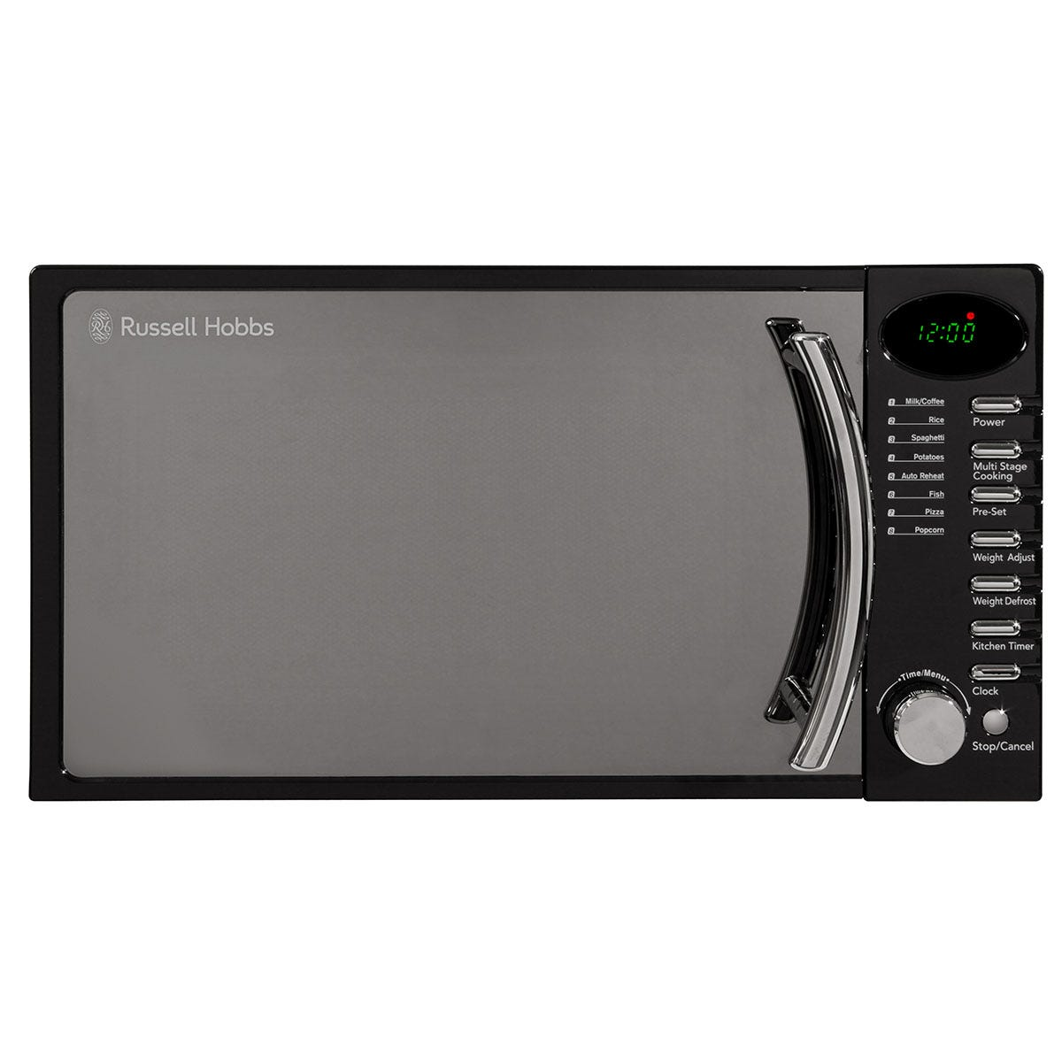 Russell Hobbs RHM1714BC 700W 17L Heritage Digital Solo Microwave - Black