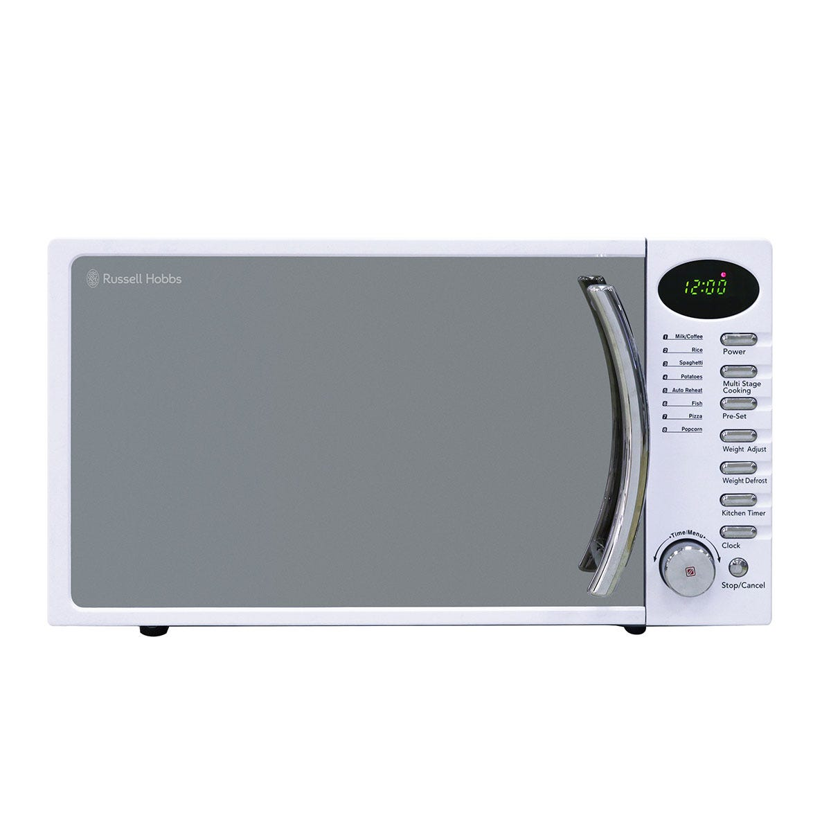 Russell Hobbs RHM1714WC 700W 17L Heritage Digital Solo Microwave - White