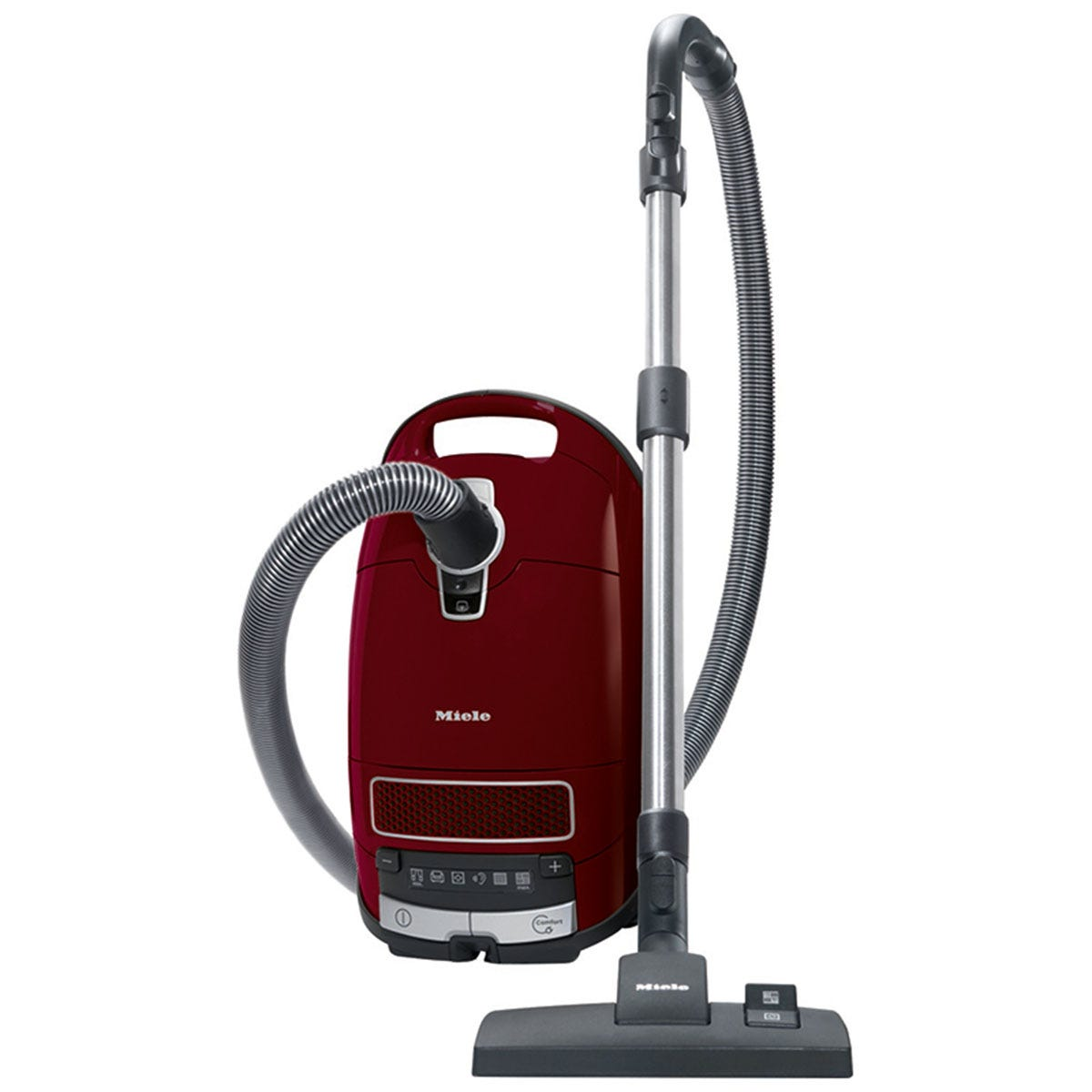 Miele C3 Complete Pure Red Powerline Vacuum Cleaner - Red