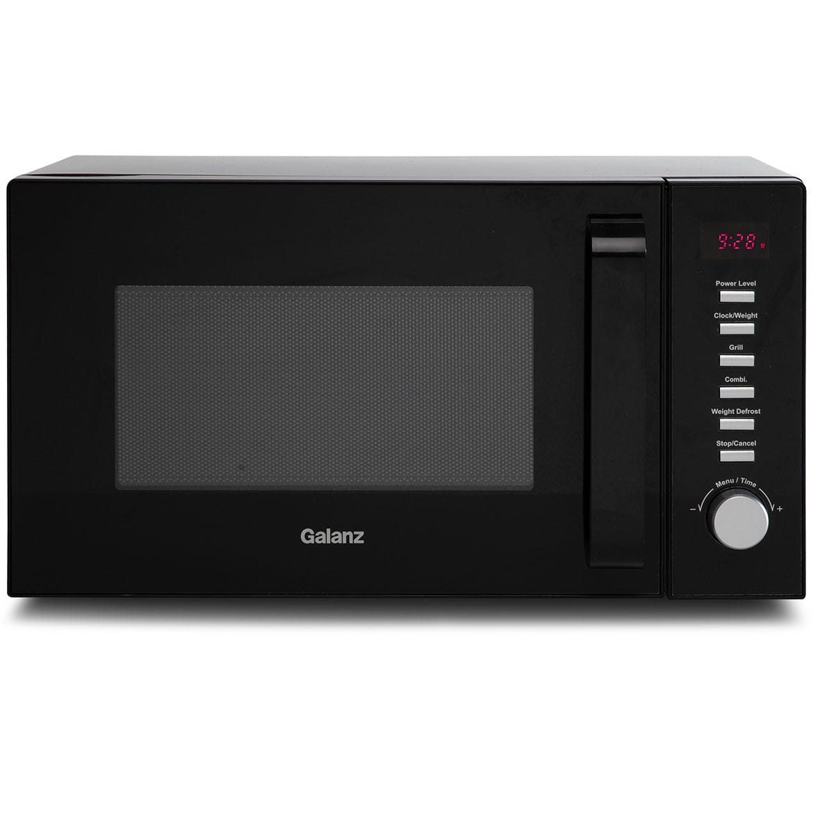 Galanz 20L 800W Digital Microwave with 900W Grill - Black