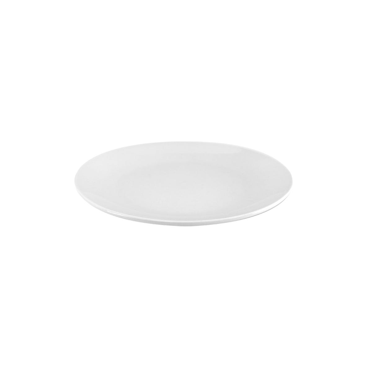 Wilko Coupe Side Plate White 19cm