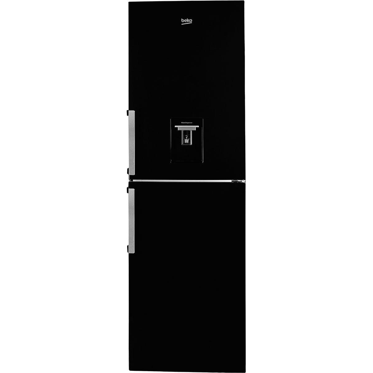 Beko CFP1691DB Frost-Free 313L Freestanding Combi Fridge Freezer - Black