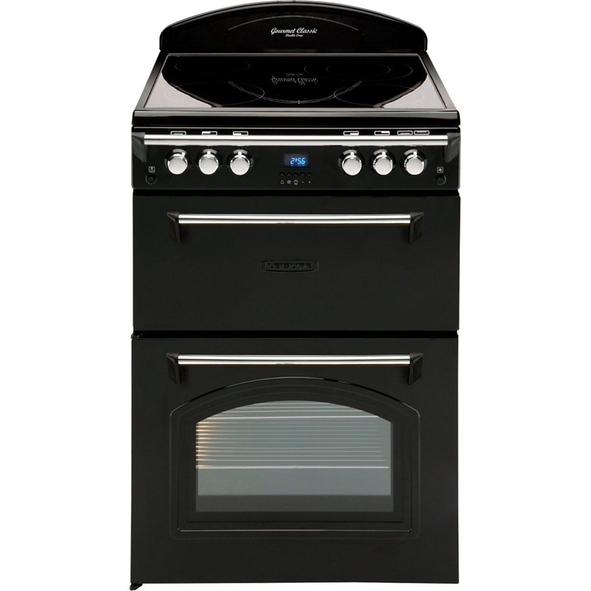 Leisure GRB6CVK Gourmet Range-Style 60cm Electric Cooker - Black