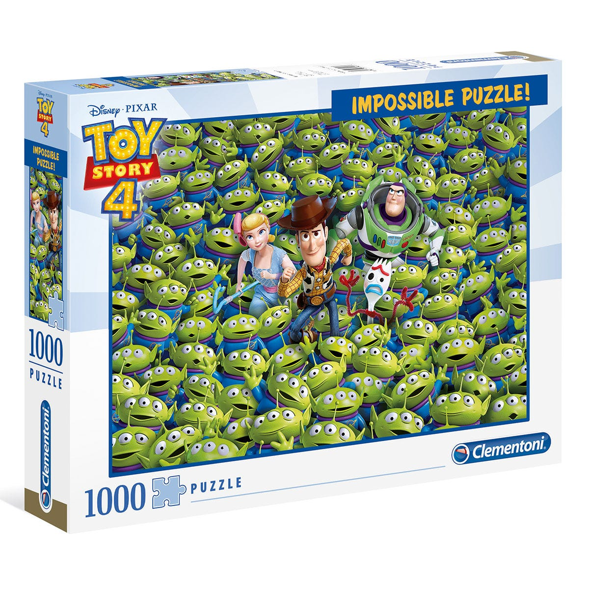 Disney Toy Story 4 Alien Impossible 1000 Piece Puzzle