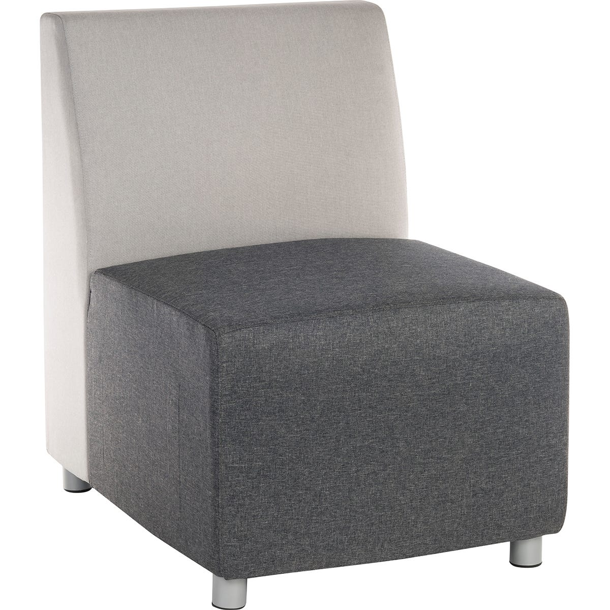 Teknik Cube Modular Reception Sofa - Dark Grey Chair
