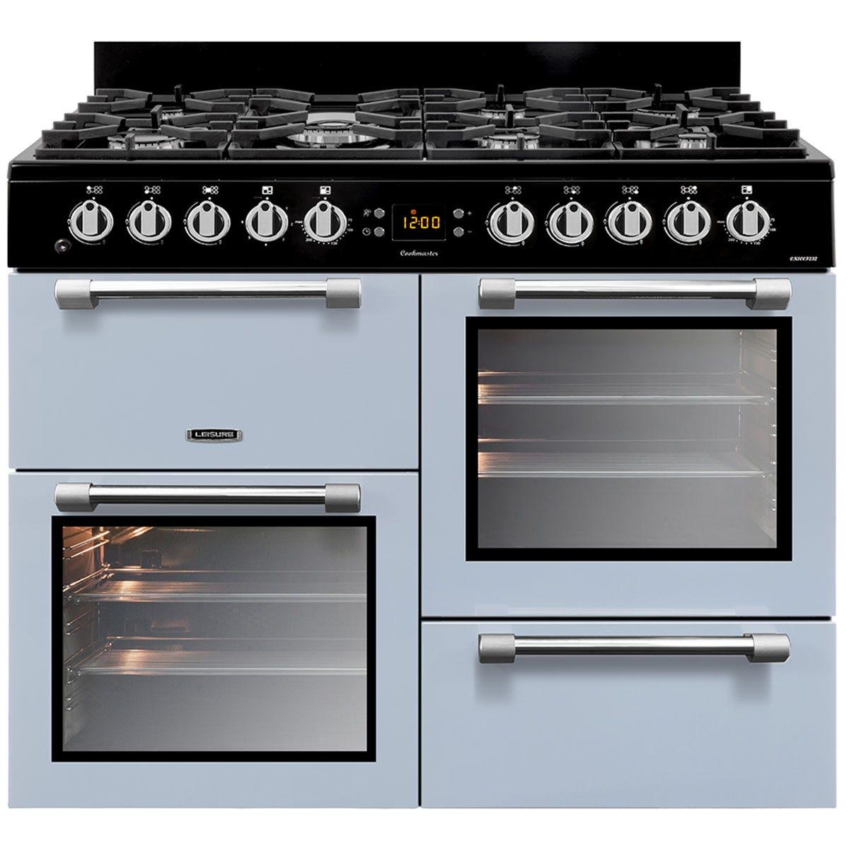 Leisure CK100F232B 100cm Cookmaster Dual Fuel Range Cooker - Blue