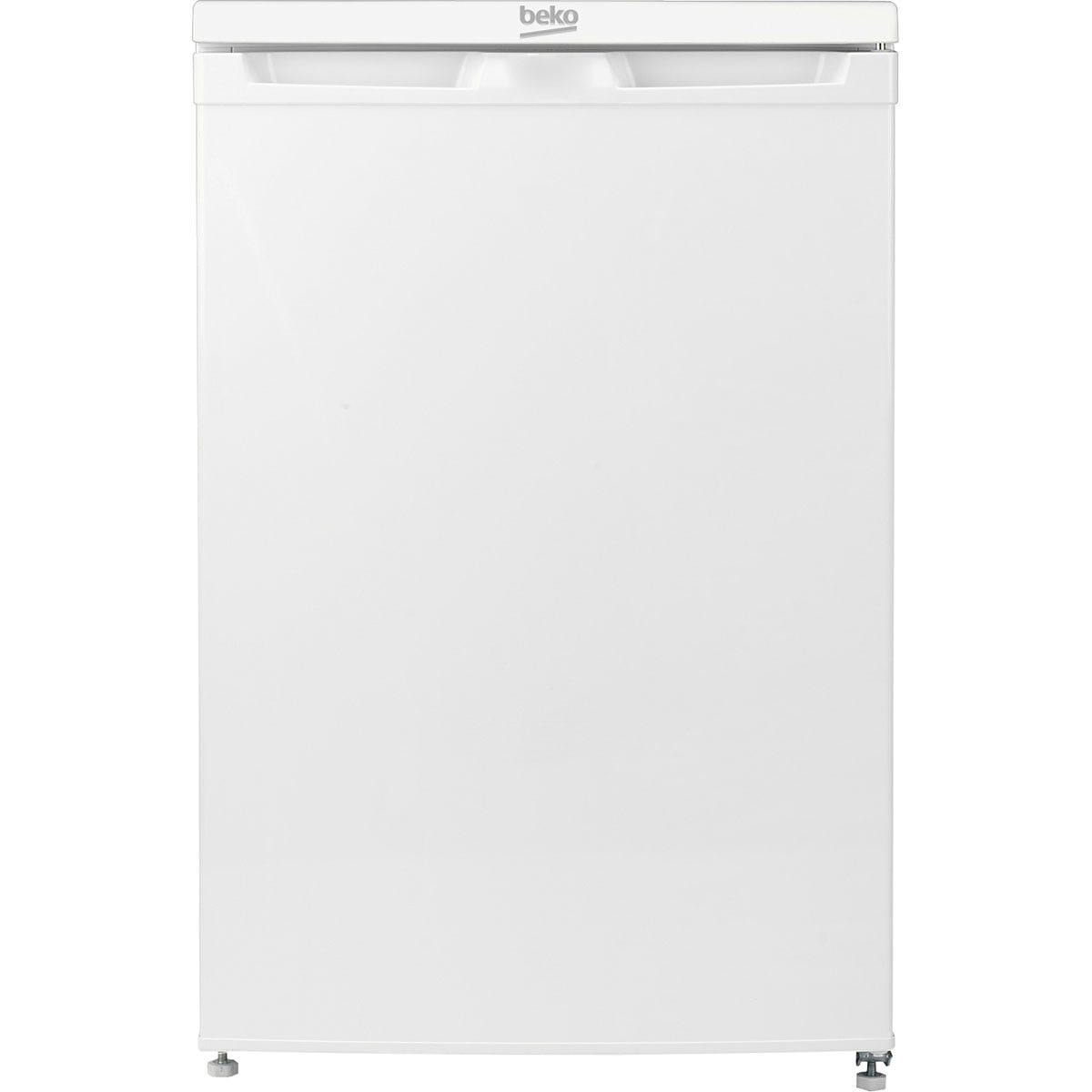 Beko UF584APW 85L Freestanding Under Counter Freezer - White