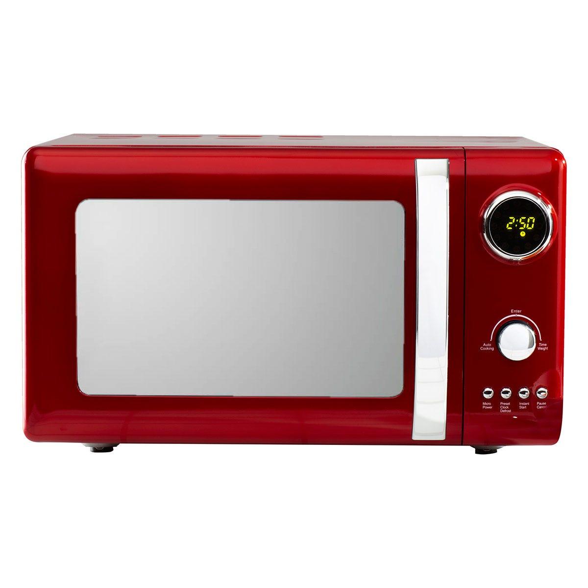 Daewoo SDA1656 800W Kensington 20L Digital Microwave - Red