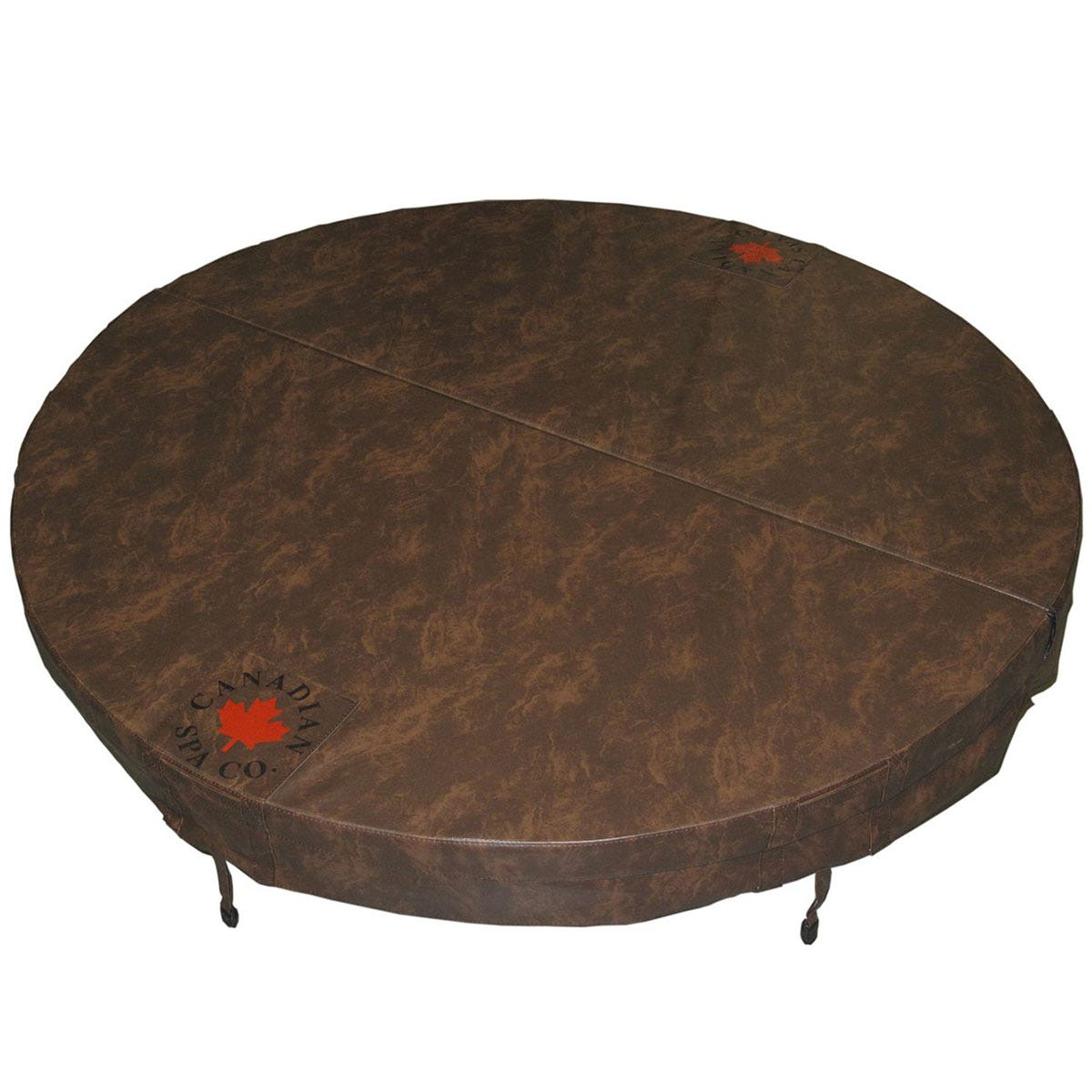 Canadian Spa Round Hot Tub Cover - Brown 203cm