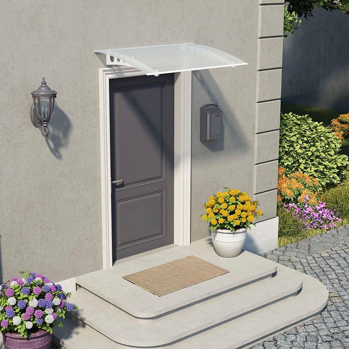 Palram - Canopia Lyra Door Canopy - White