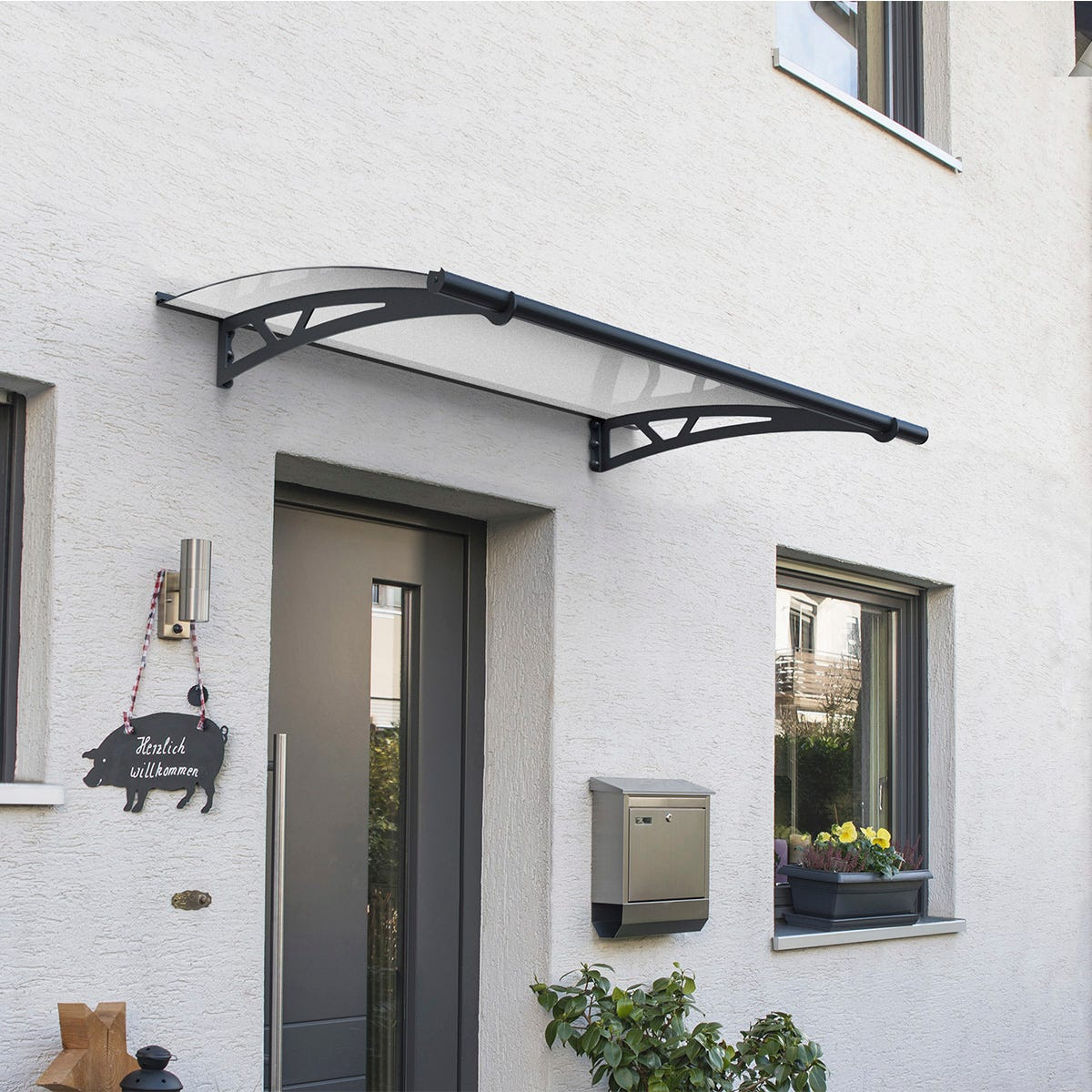 Palram - Canopia Altair Canopy 1500 - Grey Clear
