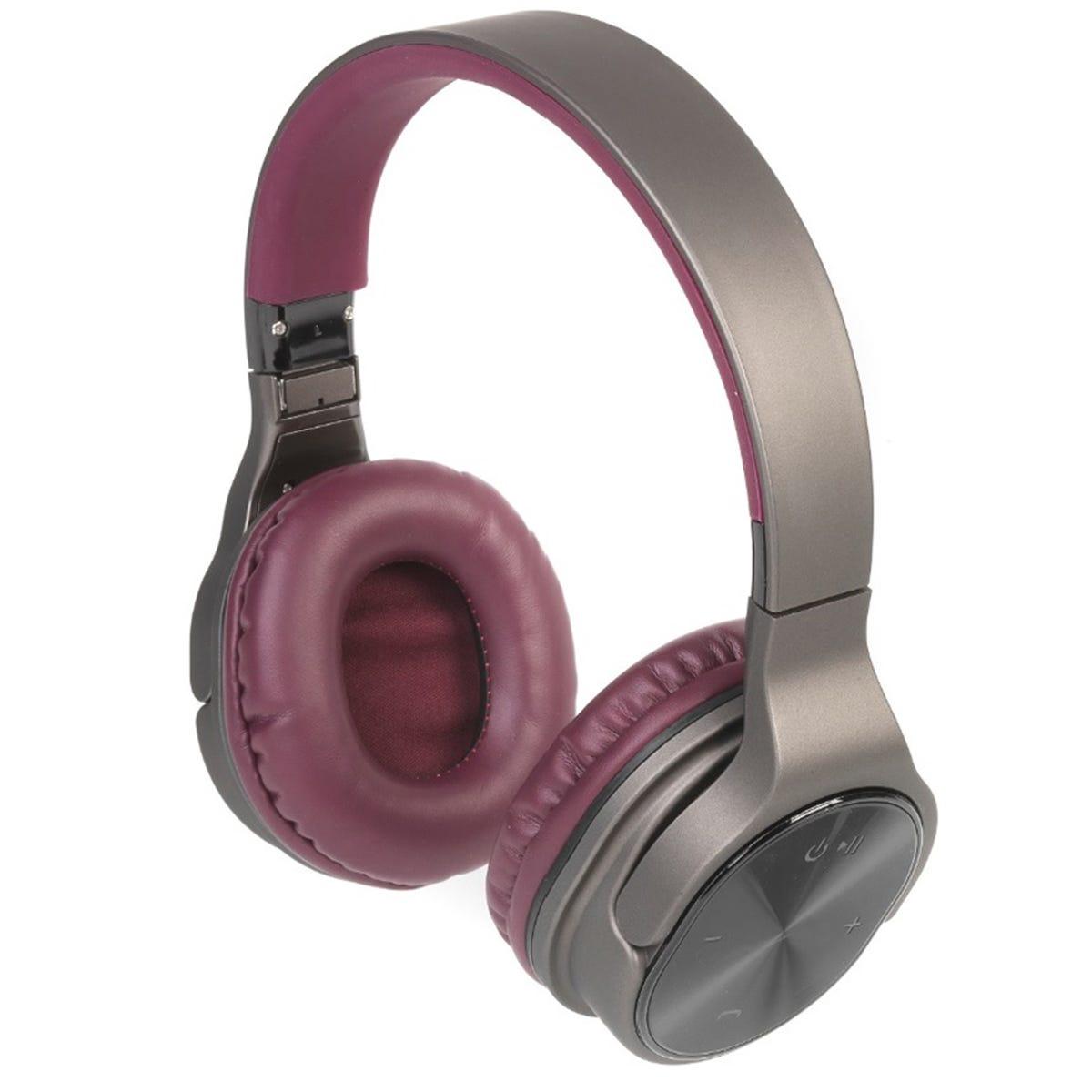 Intempo Opulence WDS25 Wireless Bluetooth Headphones - Gold/Berry