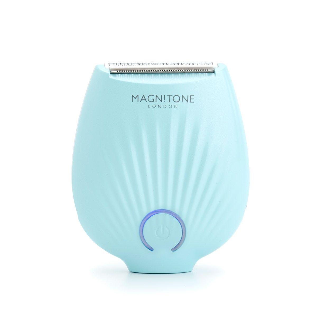 Magnitone MLS01PG GoBare Mini Rechargeable Lady Shaver - Aqua