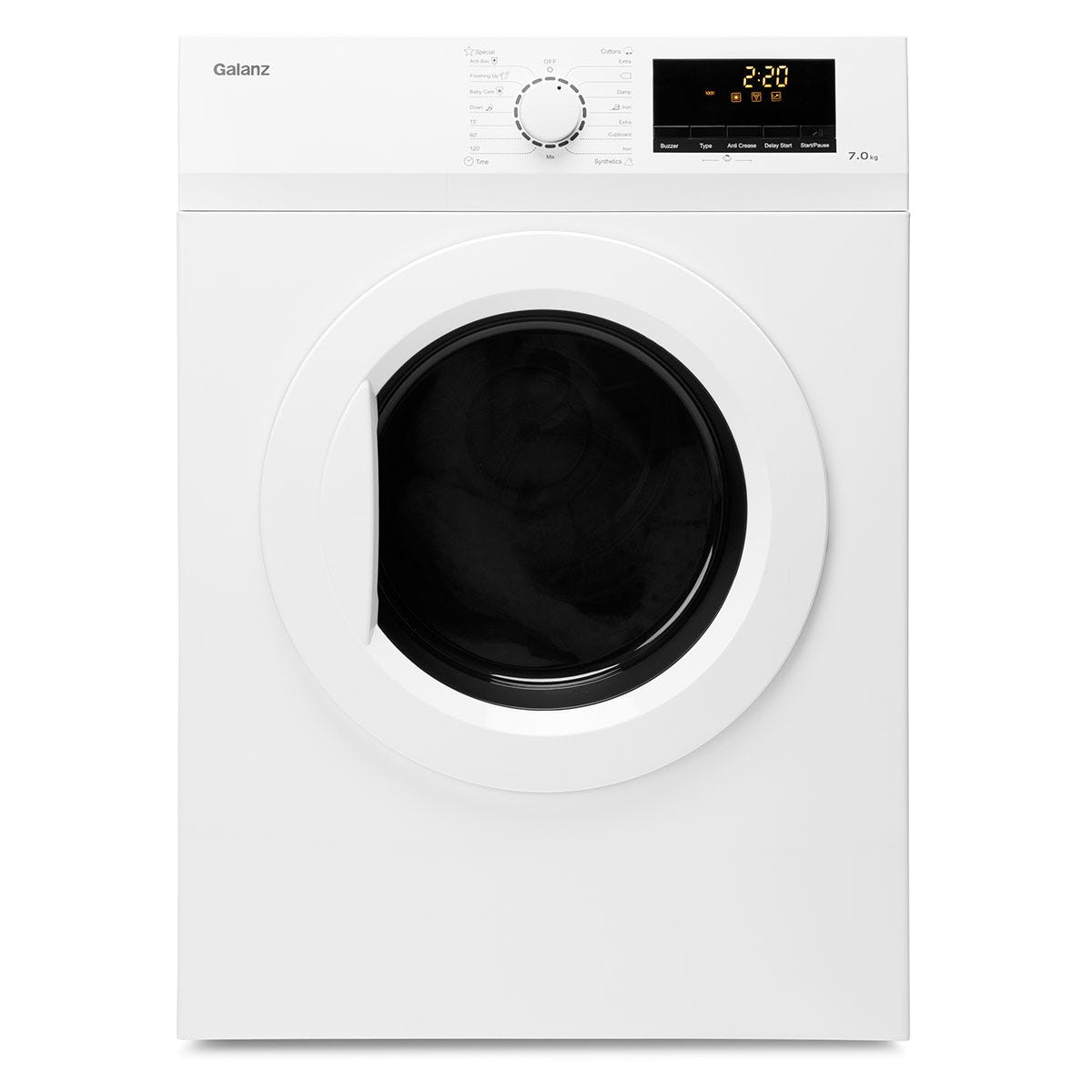 Galanz DUK001W Freestanding Vented 7kg Tumble Dryer - White