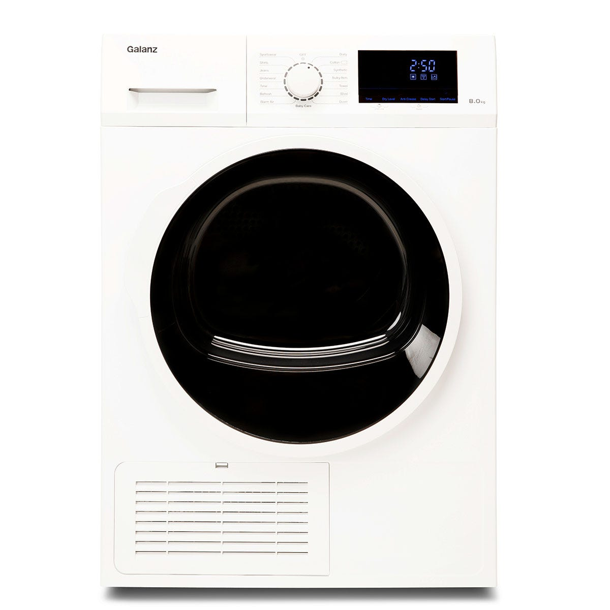 Galanz DUK002W Freestanding Condenser 8kg Tumble Dryer - White