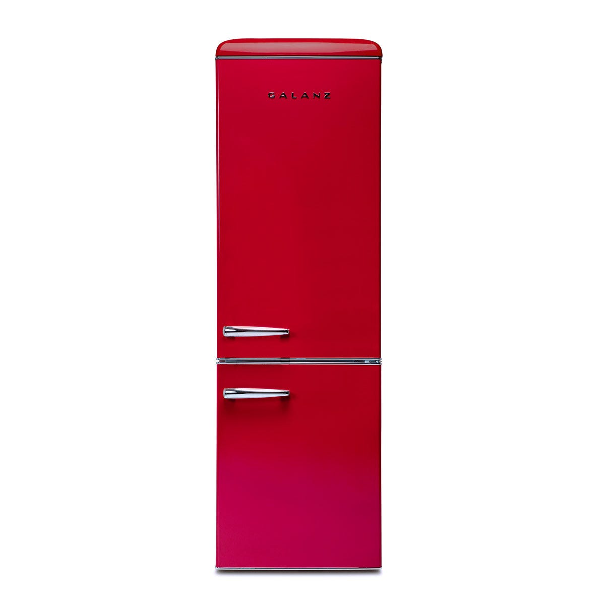 Galanz RFFK002R 300L Freestanding Retro Fridge Freezer - Red