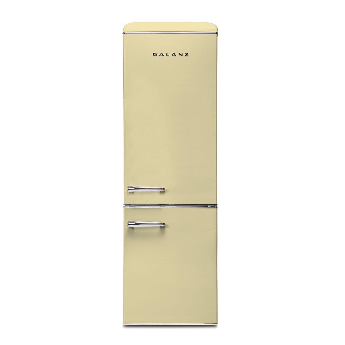 Galanz RFFK002C 300L Freestanding Retro Fridge Freezer - Cream