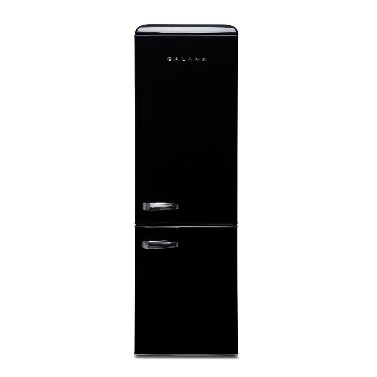 Galanz RFFK002B 300L Freestanding Retro Fridge Freezer - Black