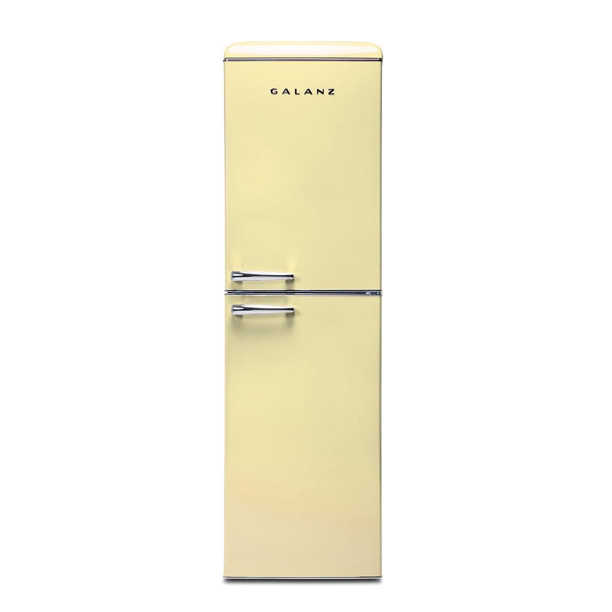 Galanz RFFK001C Frost Free 247L Freestanding Fridge Freezer - Cream