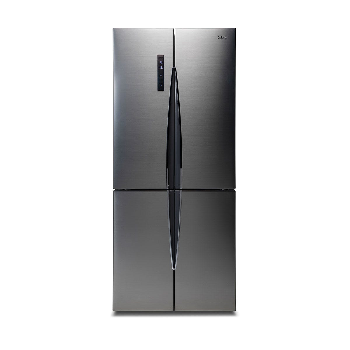 Galanz FFK004G 448L Freestanding American Fridge Freezer - Stainless Steel
