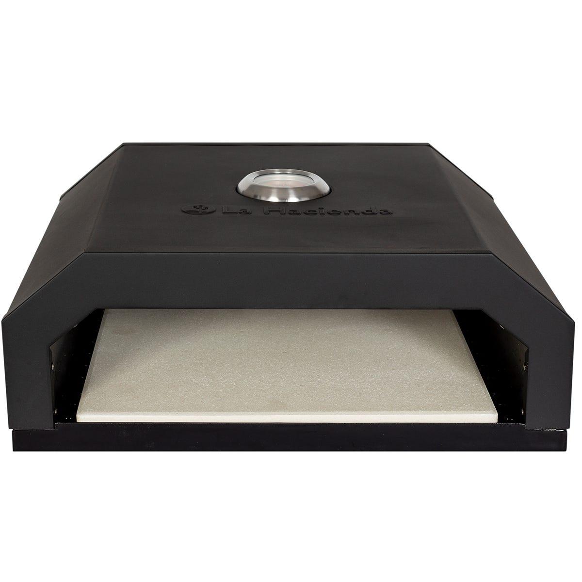 La Hacienda Firebox BBQ Pizza Oven - Black