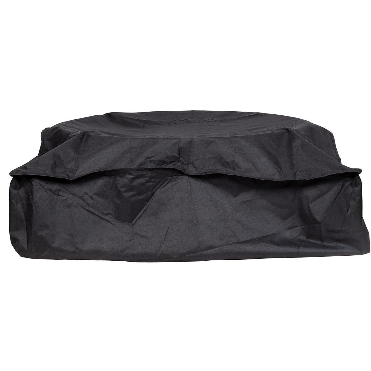 La Hacienda Premium Firepit Cover Extra Wide - Black