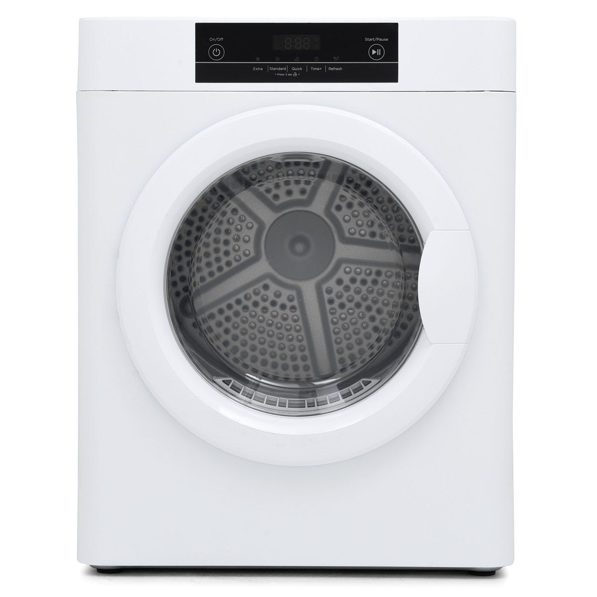 Montpellier MTD30P 3kg Vented Compact Tumble Dryer - White