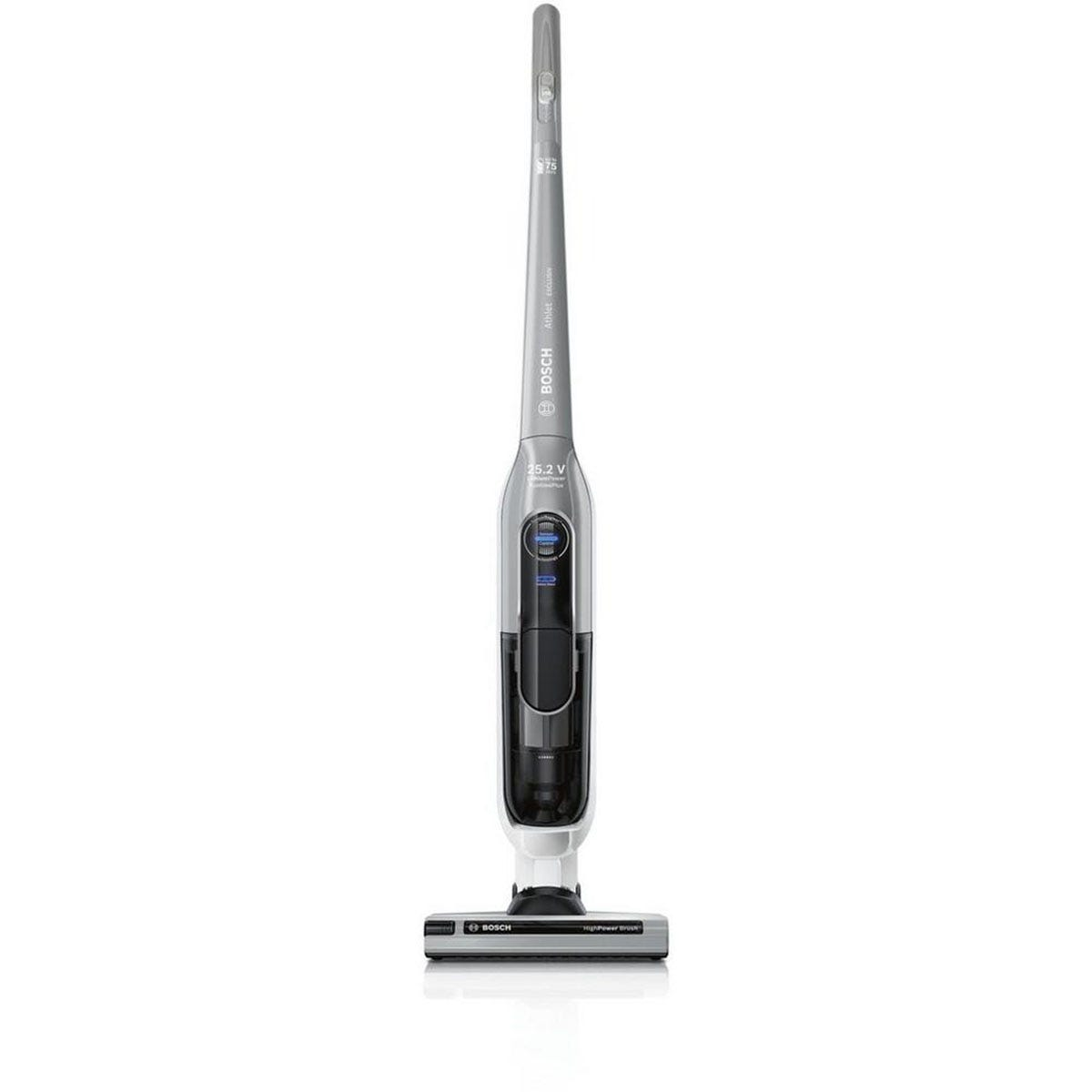 Bosch Athlet BBH625M1 Cordless Vacuum Cleaner, 75 Minutes Run Time - Silver